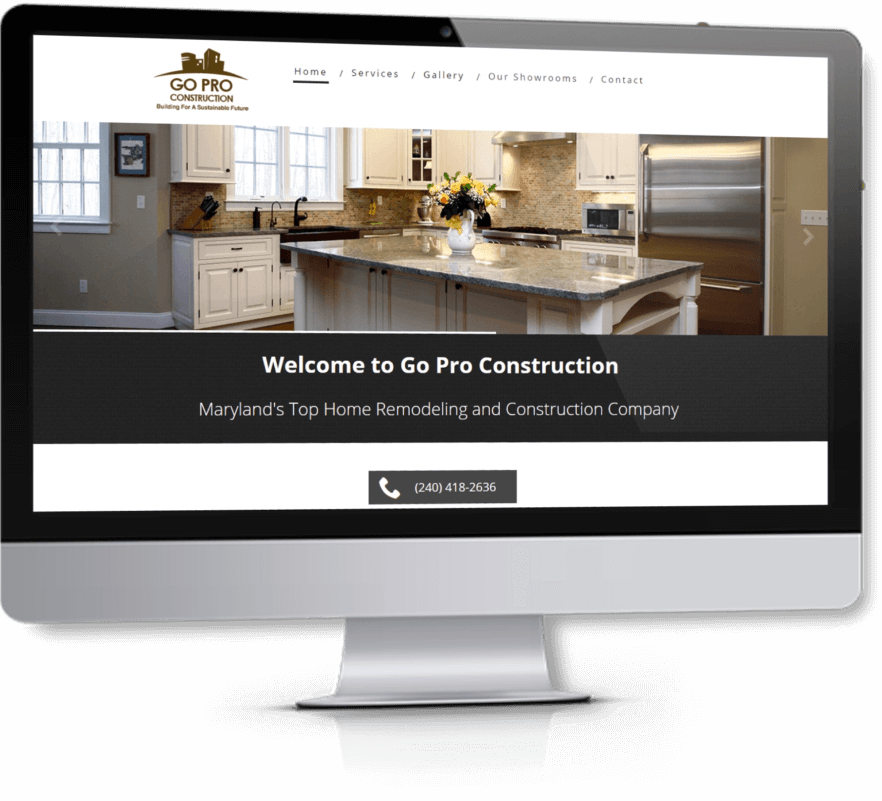 Virginia SEO Client - Go Pro Construction