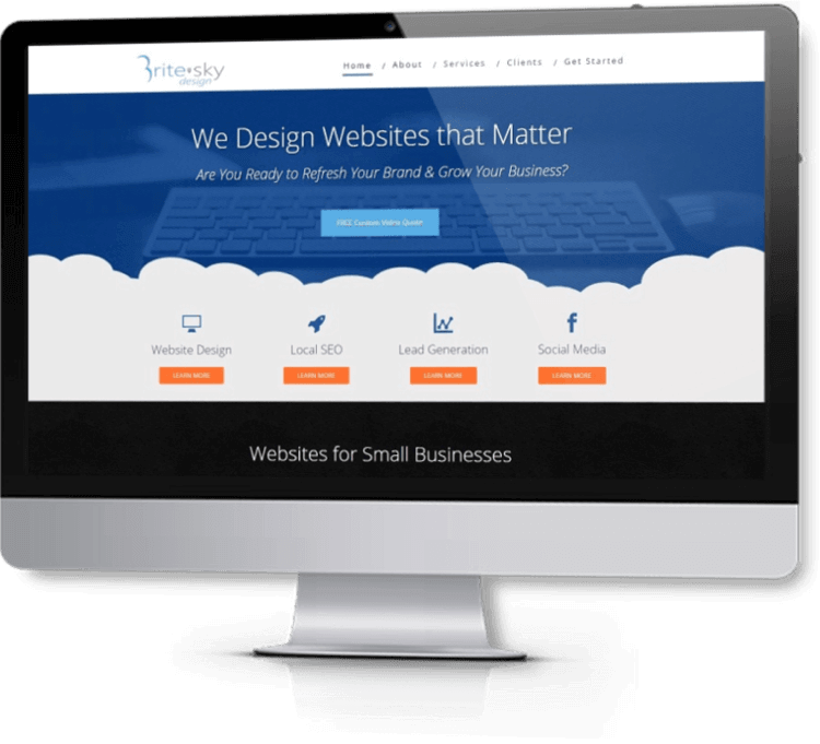 Brite Sky Design - Web Design - Our Clients