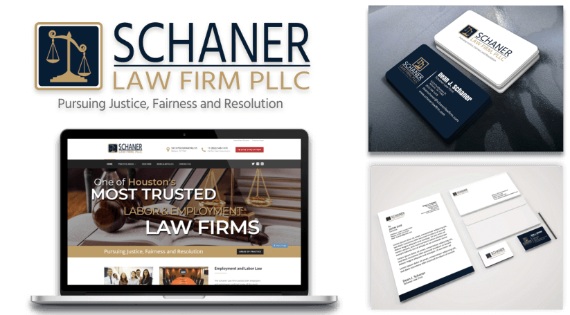 Schaner Law Firm - Web Design and Digital Marketing Client